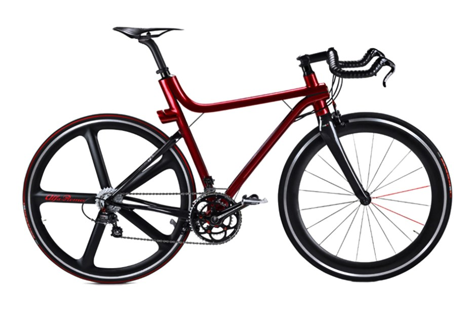 Image of Alfa Romeo x Compagnia Ducale IFD 4C Carbon Fiber Road Bike