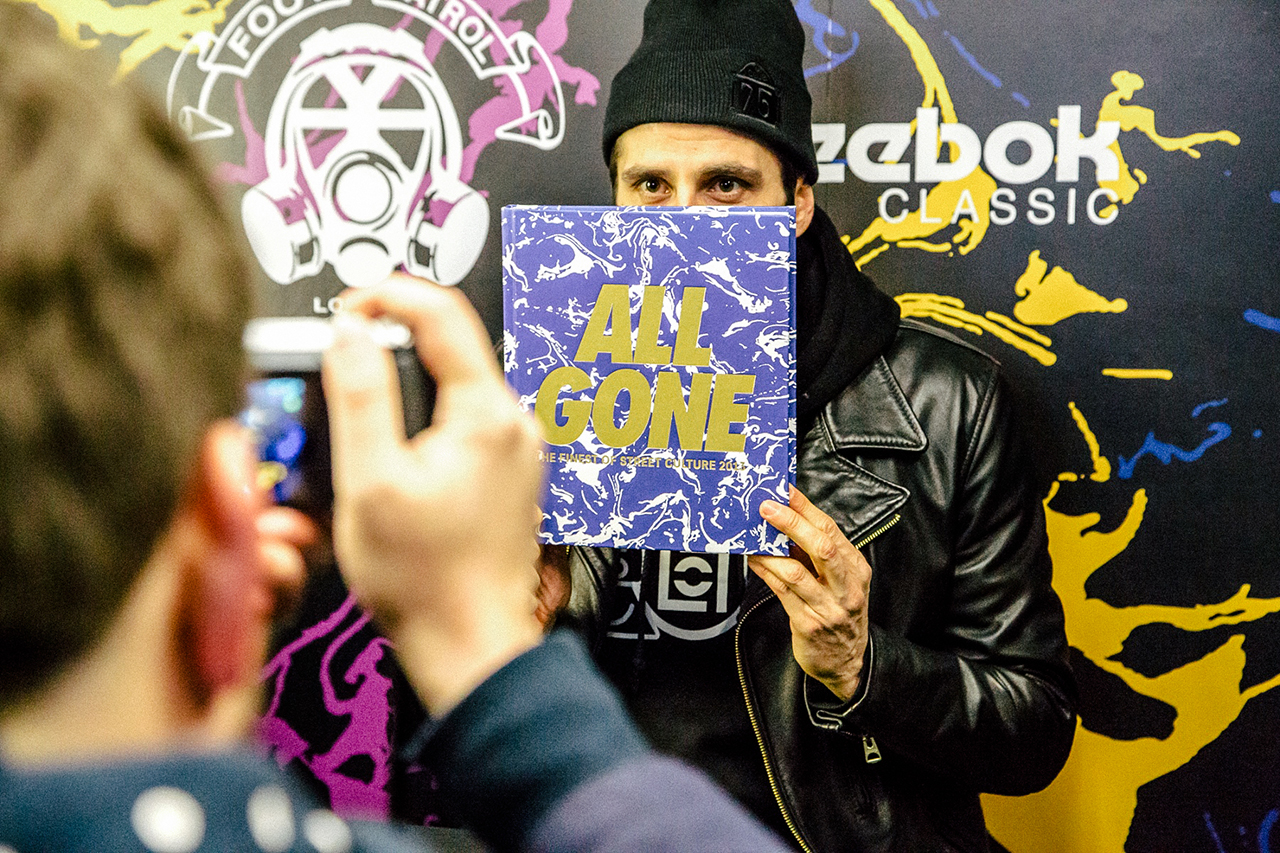 Image of All Gone 2013 Book Launch @ Foot Patrol London