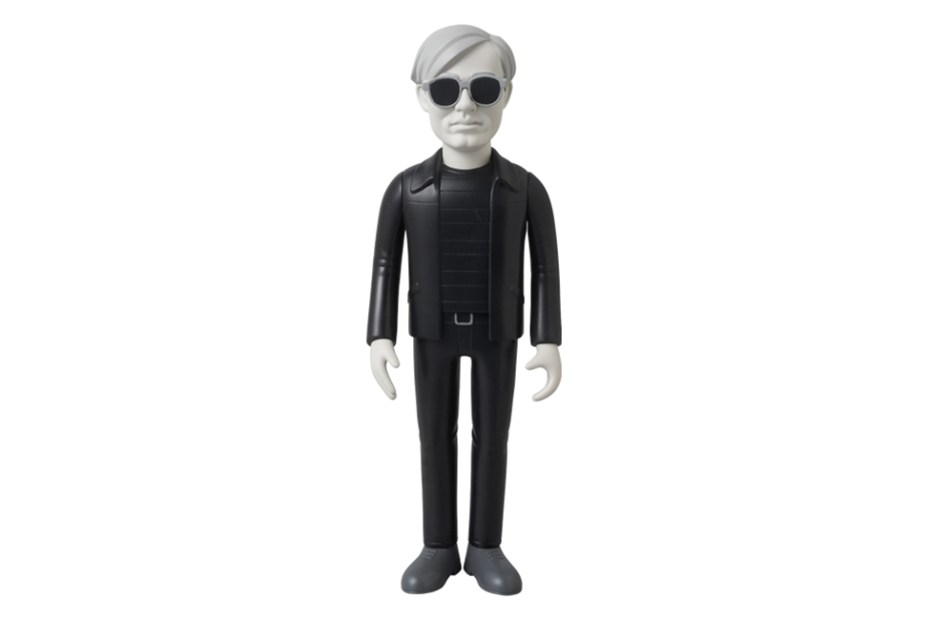 Image of Andy Warhol x Medicom Toy Vinyl Collectible Dolls