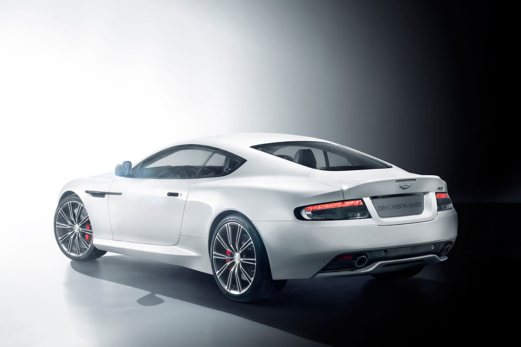 Image of Aston Martin DB9 Carbon Black and White Special Editions
