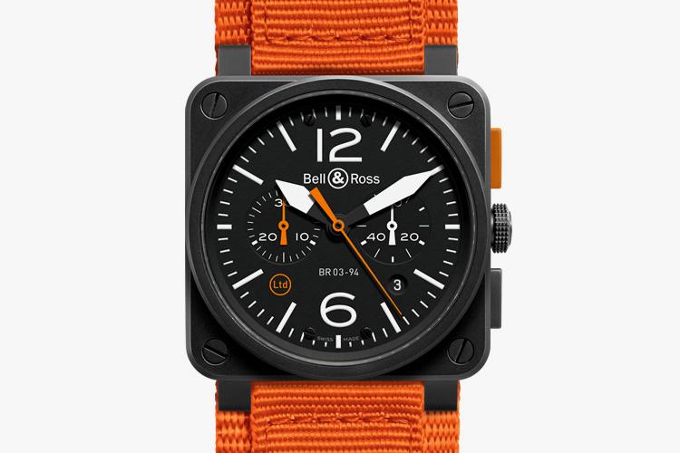 """Image of Bell & Ross BR 03-94 """"Carbon Orange"""""""