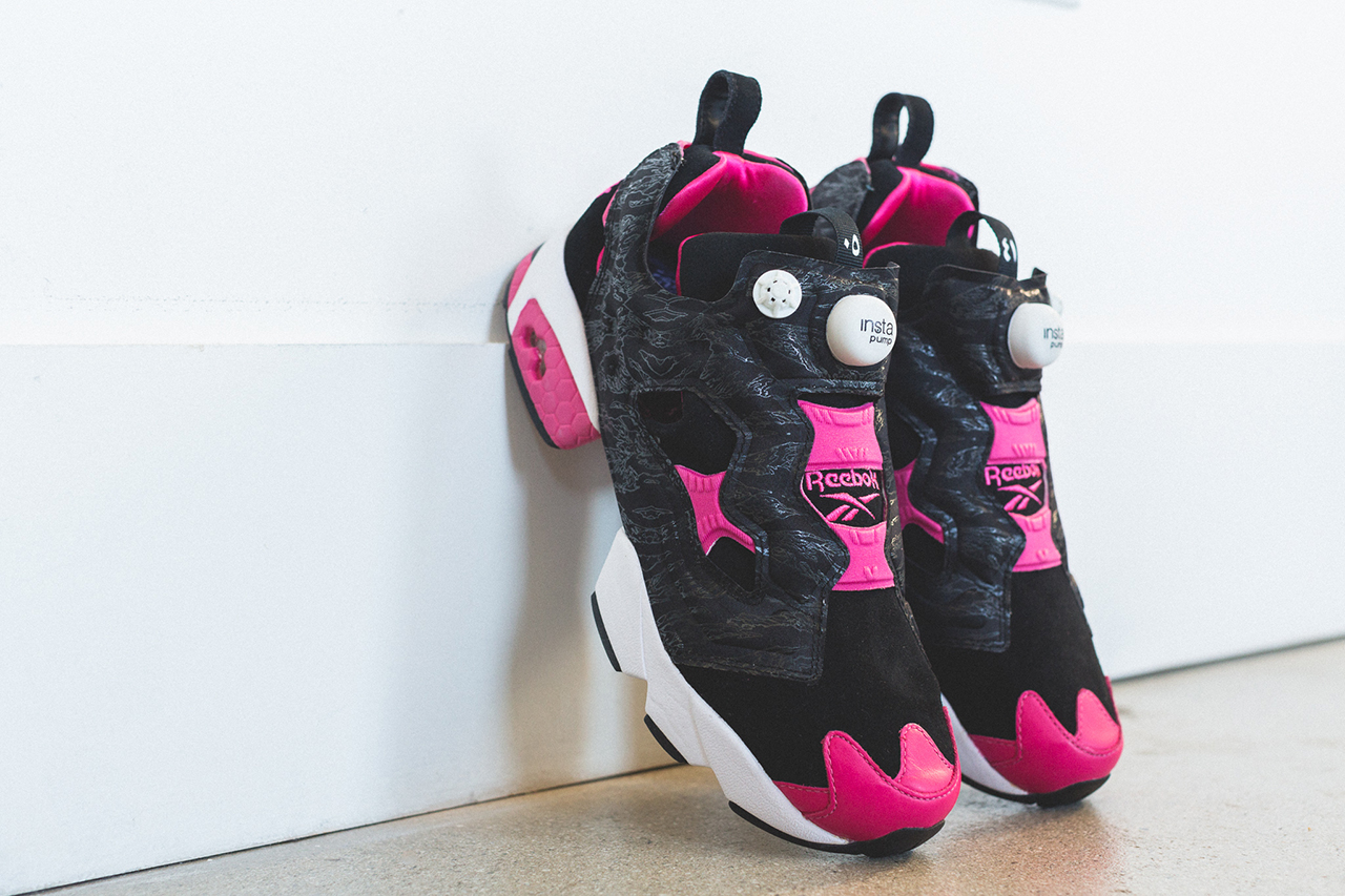 Image of CROSSOVER x Reebok Instapump Fury 20th Anniversary