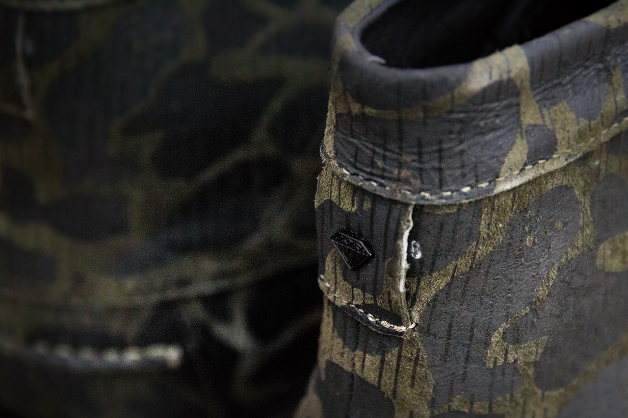 "Image of Diamond Supply Co. G.I. Boot ""Rain Fog Camo"""