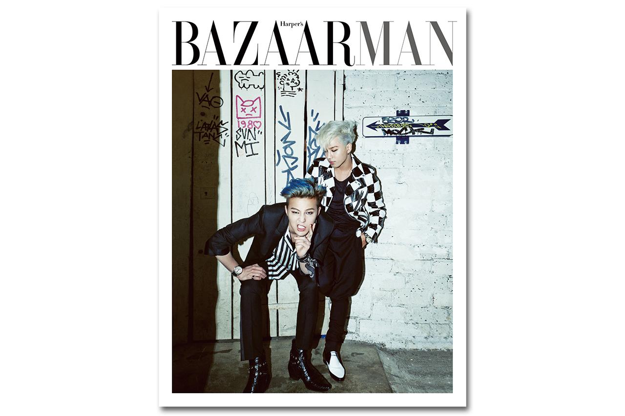 Image of G-Dragon & Taeyang for Harper's BAZAAR Man No.5