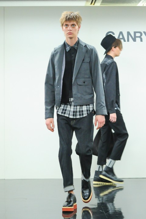 Image of GANRYU COMME des GARCONS 2014 Fall/Winter Collection