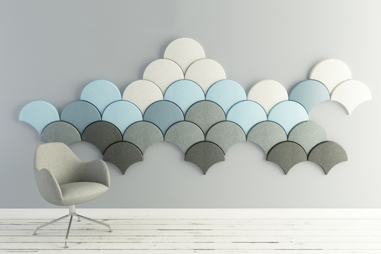 Image of Ginkgo Acoustic Panels by Stone Designs