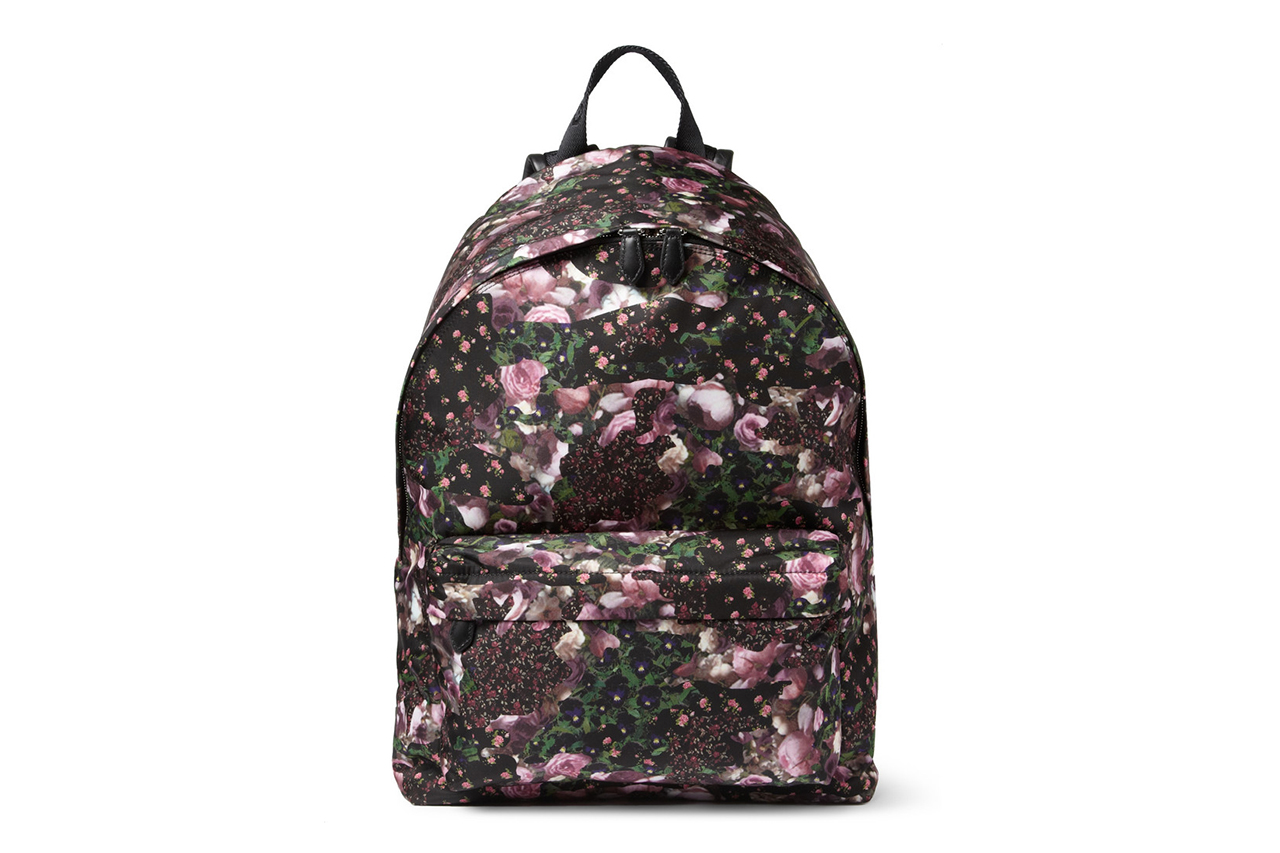 Image of Givenchy Camo Flower-Print Backpack