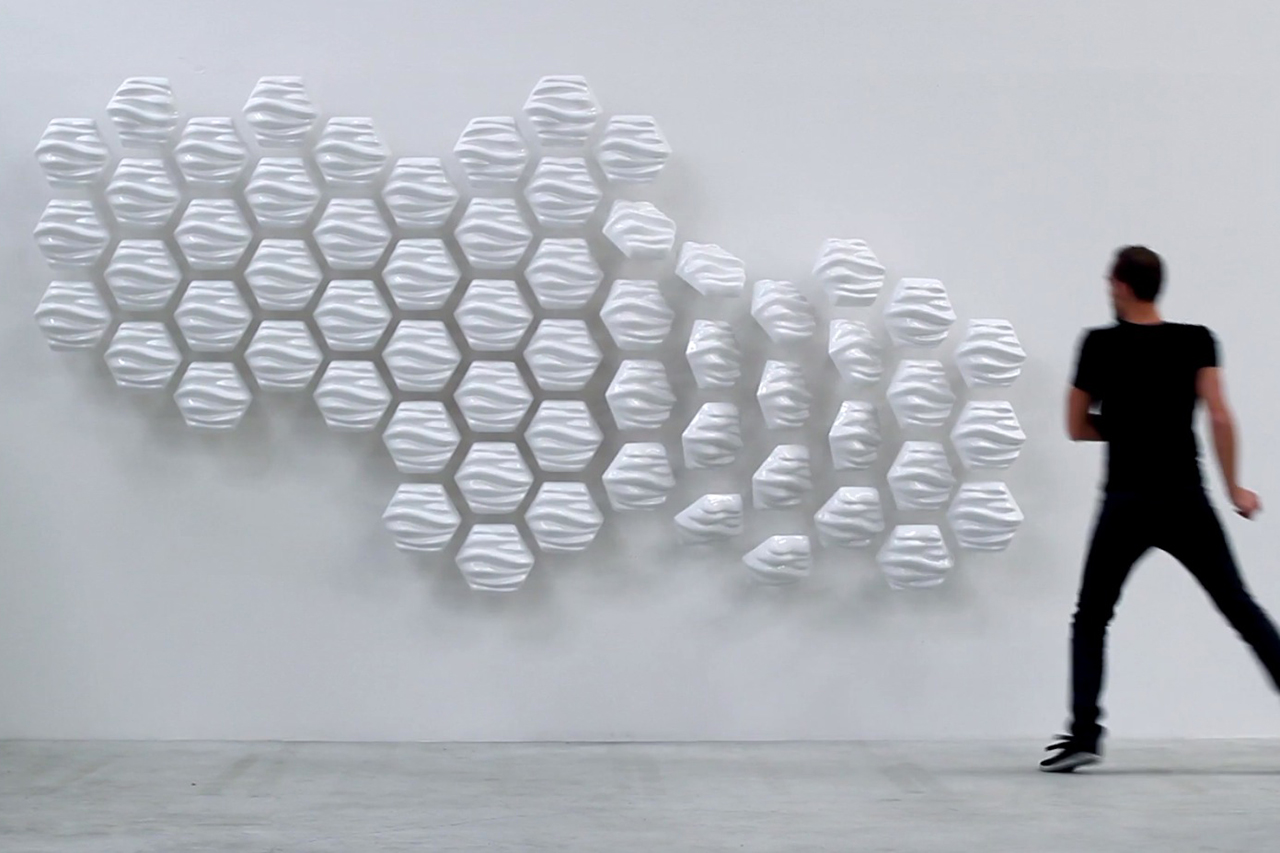 Image of HEXI Responsive Wall by Thibaut Sld