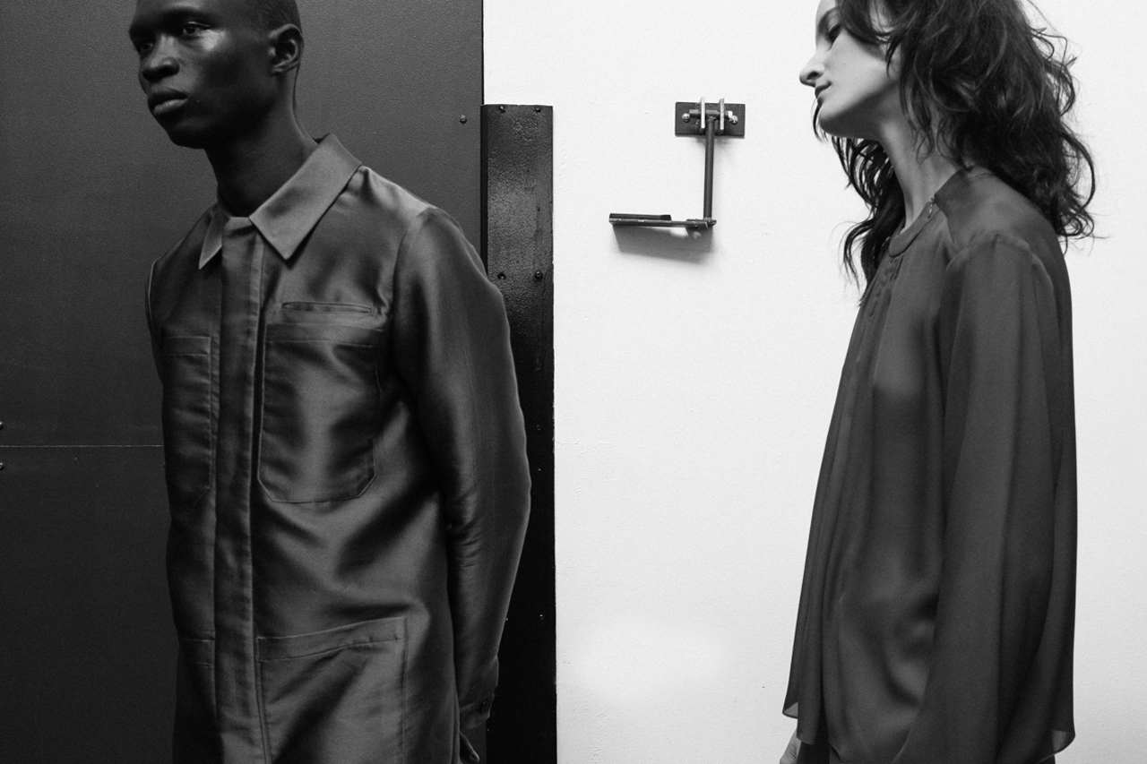 Image of HYPEBEAST Goes Backstage at Duckie Brown's 2014 Fall/Winter Show