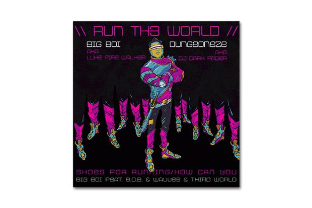 Image of Big Boi featuring B.o.B. & Wavves & Third World – Run Th3 World