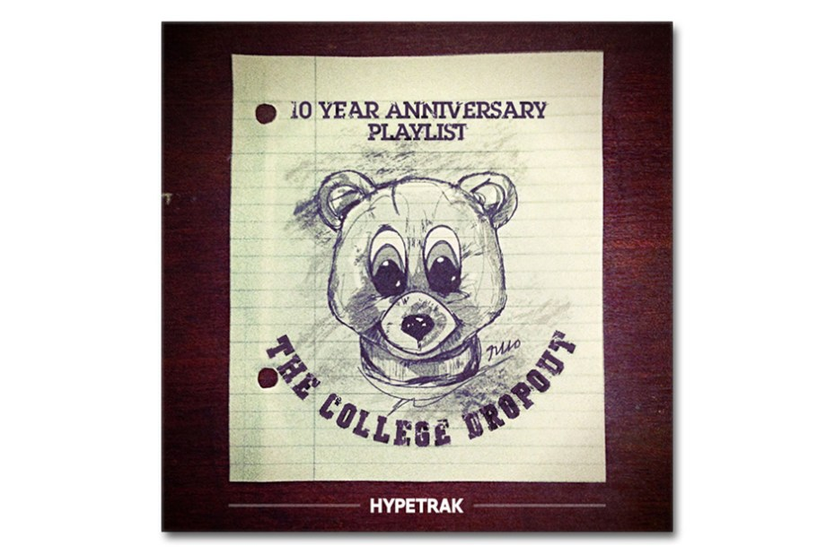 """Image of HYPETRAK Celebrates Kanye West """"College Dropout"""" 10 Year Anniversary With Spotify Playlist"""