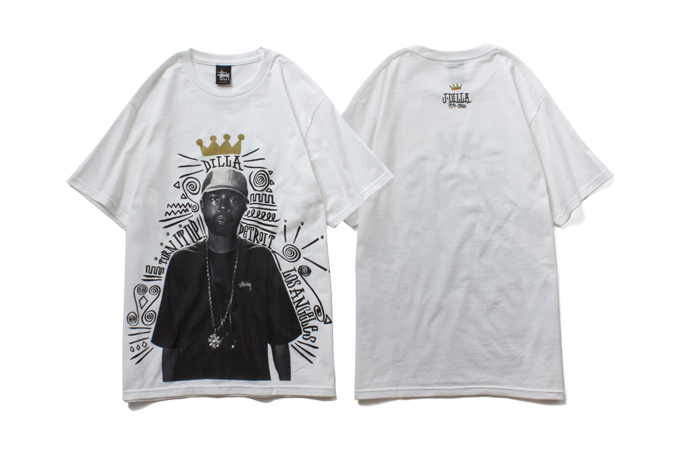 "Image of J Dilla x Stussy 2014 ""TURN IT UP"" T-Shirt"