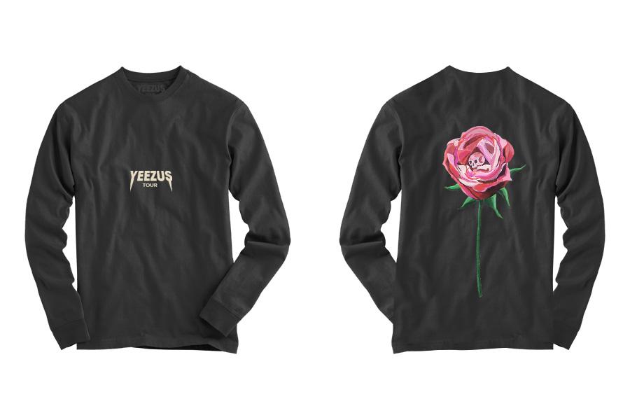 Image of Kanye West's New Yeezus Tour Merchandise