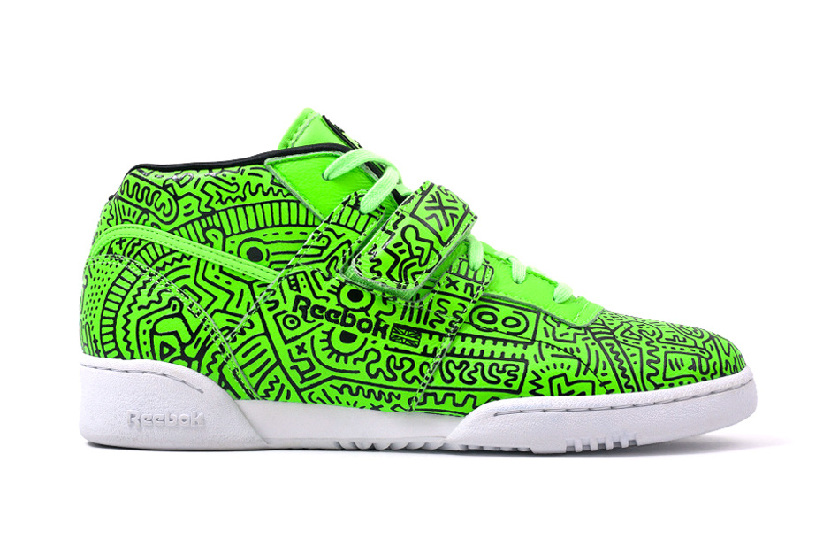 Image of Keith Haring x Reebok Classic 2014 Spring/Summer Collection Preview