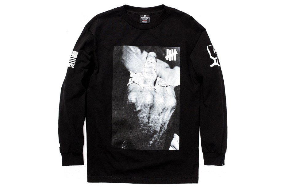 "Image of Kenneth Cappello x Undefeated ""Bloodchoke"" Long-Sleeve T-Shirt"