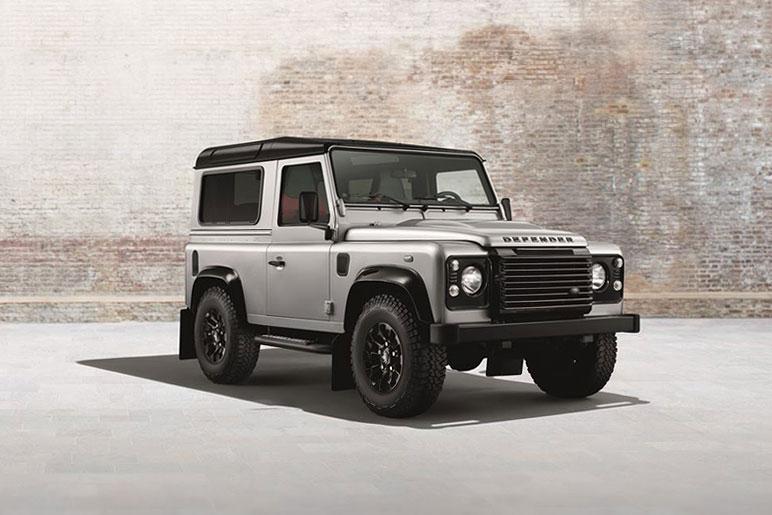 """Image of Land Rover Defender """"Black & Silver"""" Pack"""