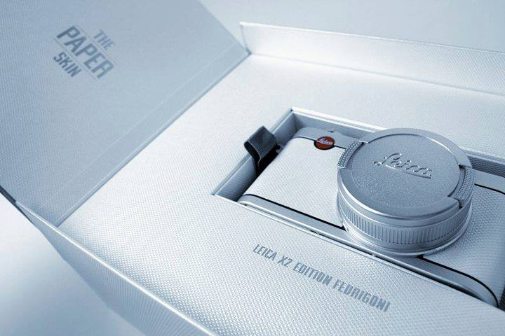 "Image of Leica X2 ""The Paper Skin"" Edition Fedrigoni"