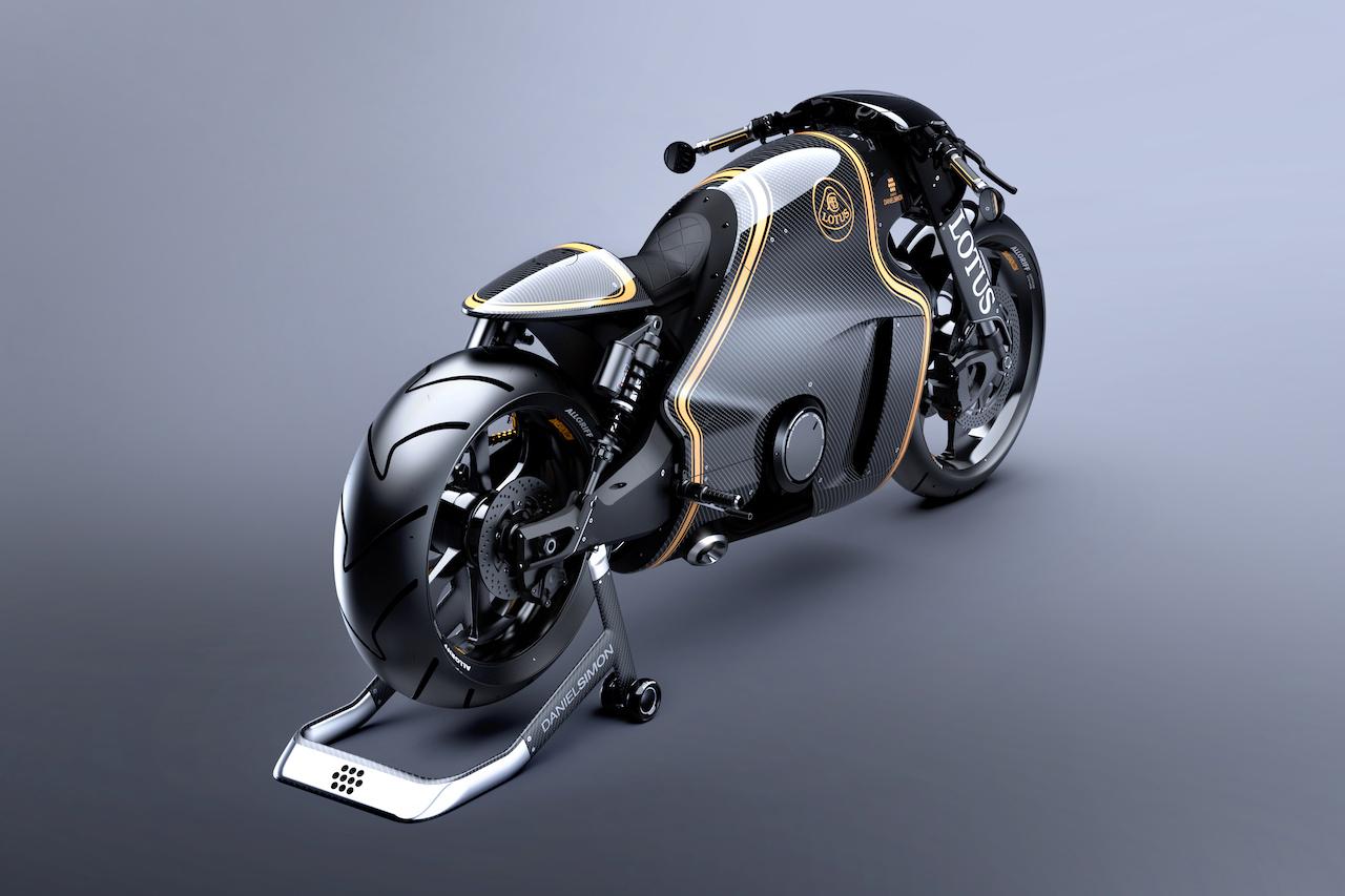 Image of Lotus C-01 Motorcycle