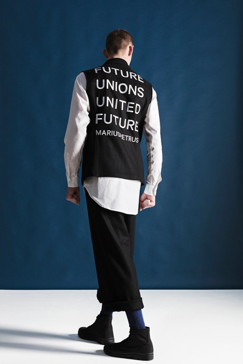 "Image of MariusPetrus 2014 Fall/Winter ""Future Unions, United Future"" Lookbook"