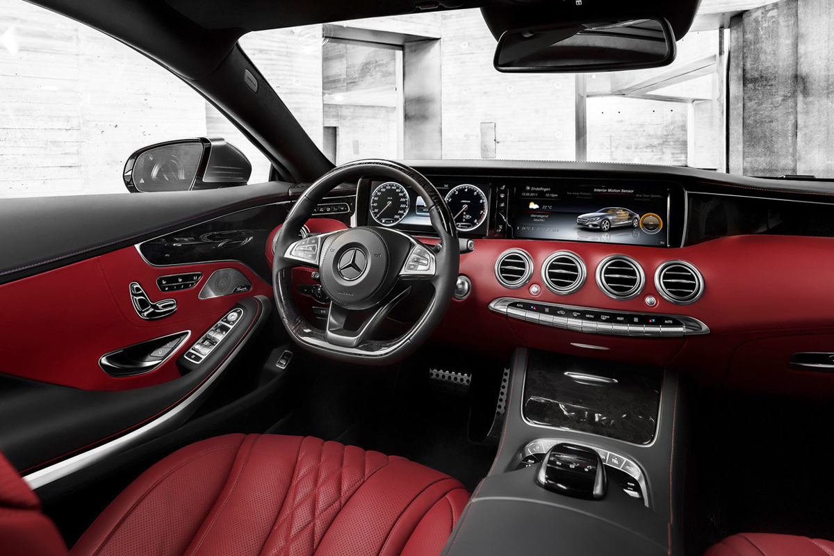 Image of Mercedes-Benz Debuts the 2015 S-Class Coupe