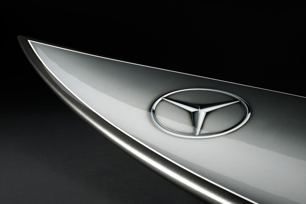 Image of Mercedes-Benz Surfboard for Garrett McNamara