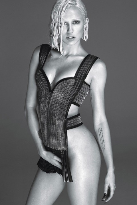 Image of Miley Cyrus by Mert & Marcus for W Magazine
