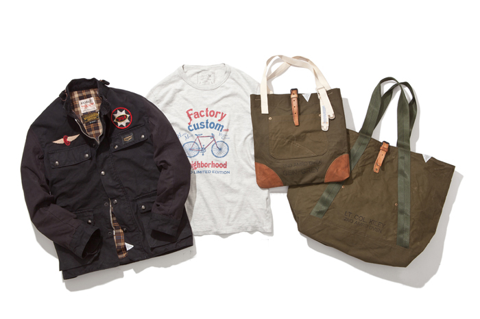 "Image of NEIGHBORHOOD 2014 ""FACTORY CUSTOM"" Collection"