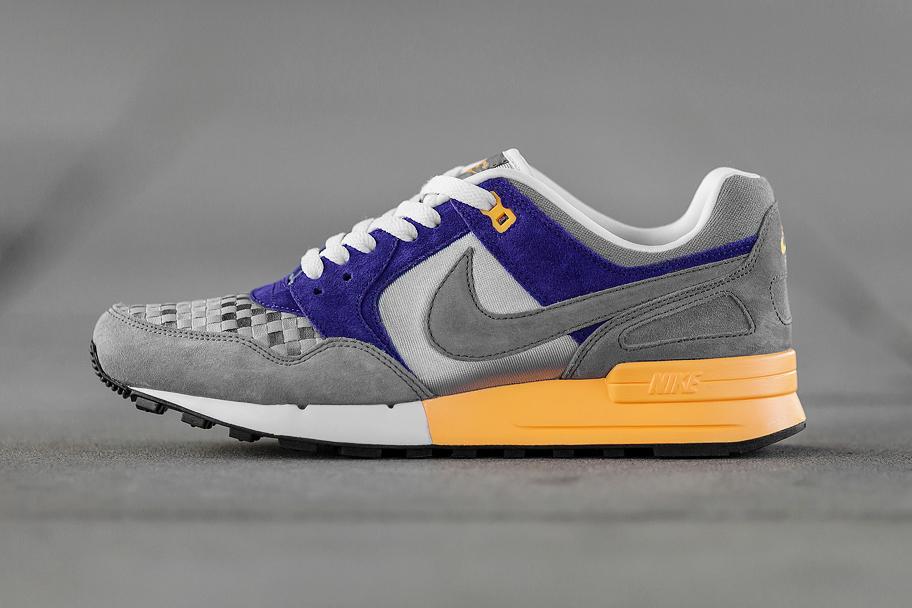 Image of Nike Air Pegasus 89 Woven Wolf Grey/Cool Grey-Court Purple