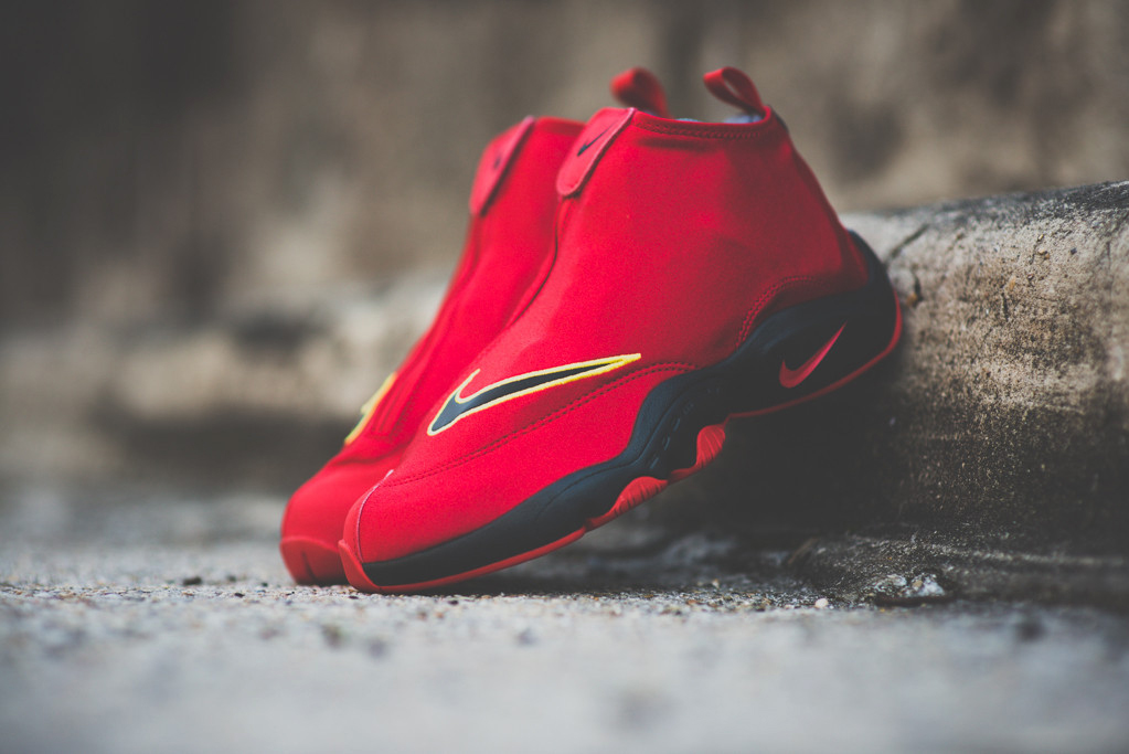 "Image of Nike Air Zoom Flight ""The Glove"" University Red/Black"