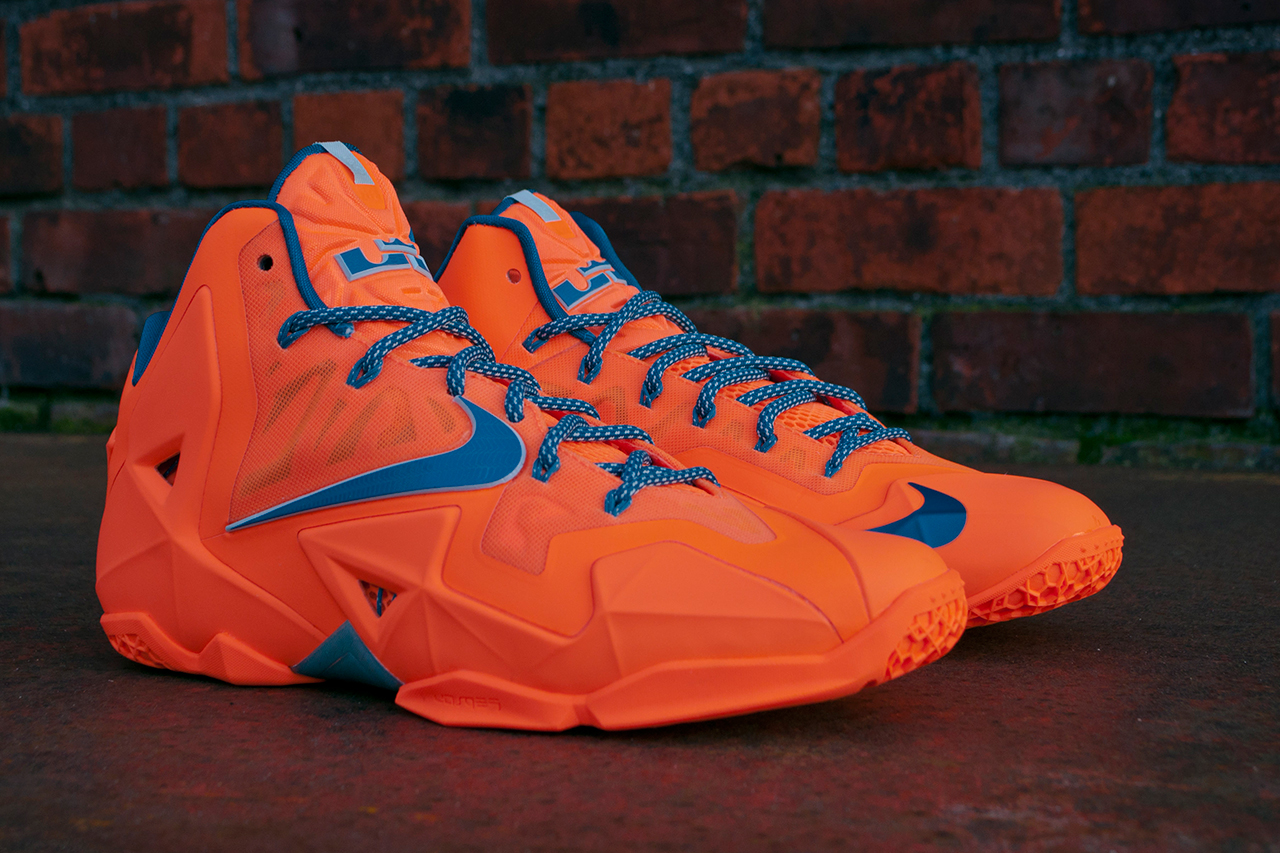 "Image of Nike LeBron 11 ""Atomic Orange"""
