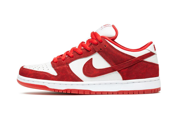 "Image of Nike SB Dunk Low Premium ""Valentine's Day"""