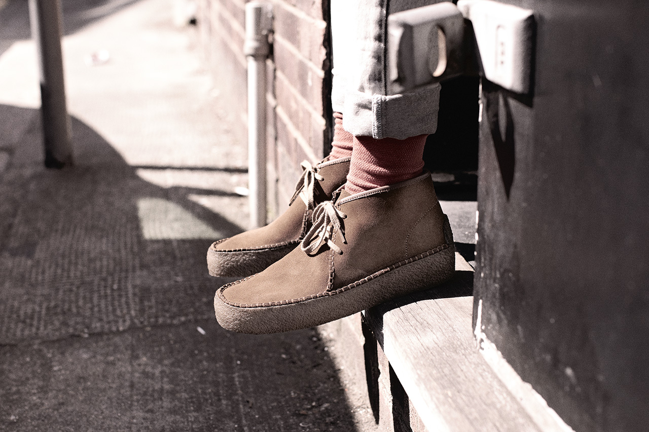 Image of Oi Polloi x Clarks Originals Wallabee Ridge
