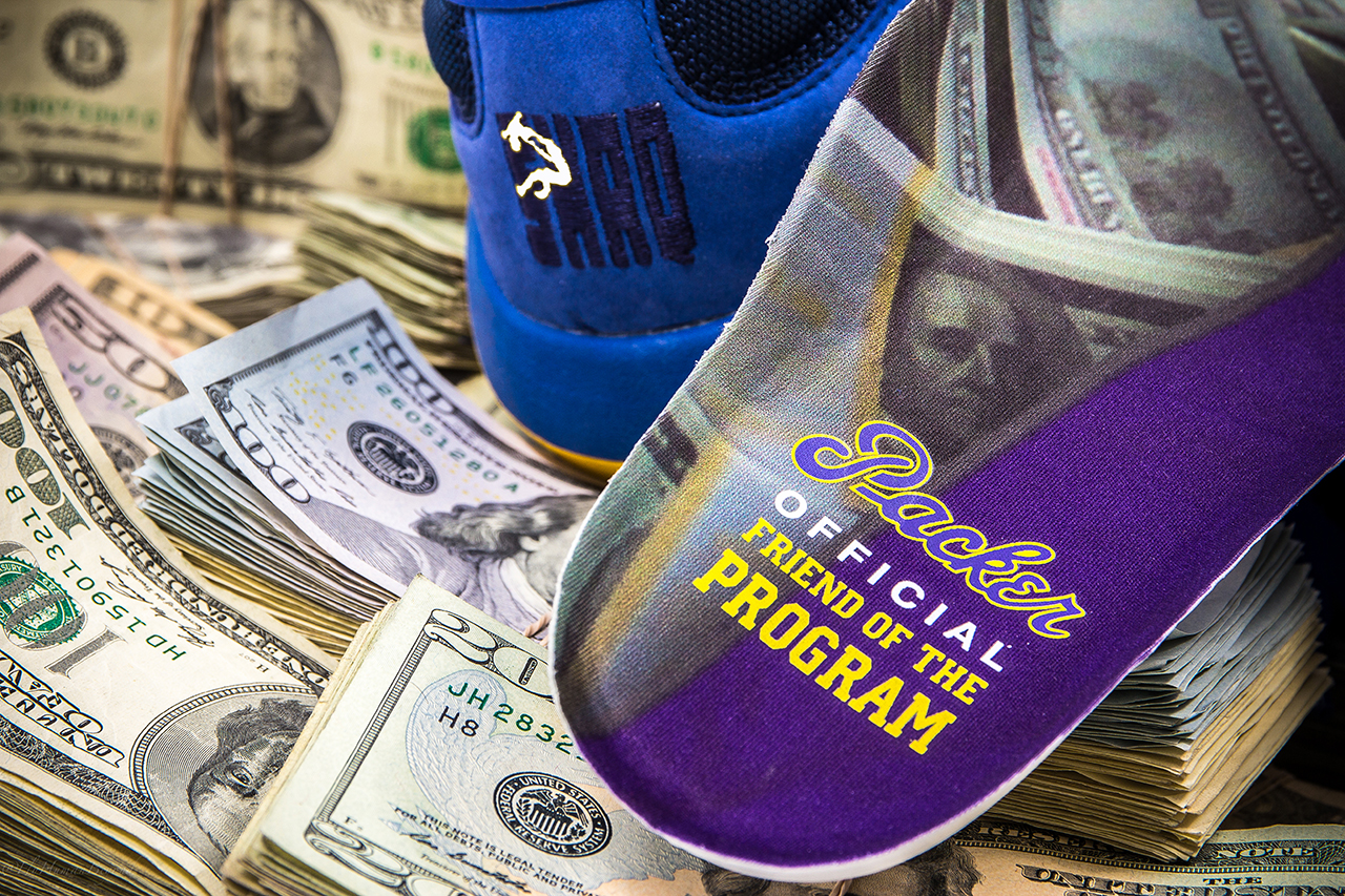 "Image of Packer Shoes x Reebok Shaq Attaq ""Blue Chips"" Teaser"