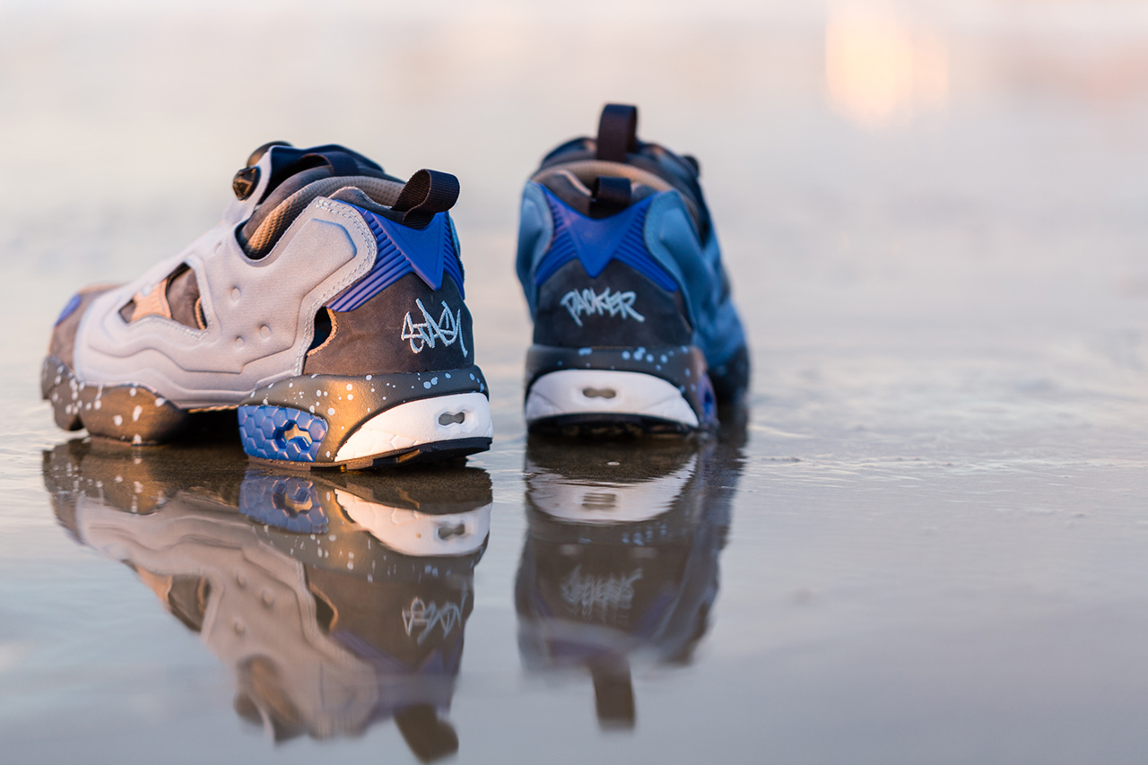 Image of Packer Shoes x Stash x Reebok Instapump Fury 20th Anniversary