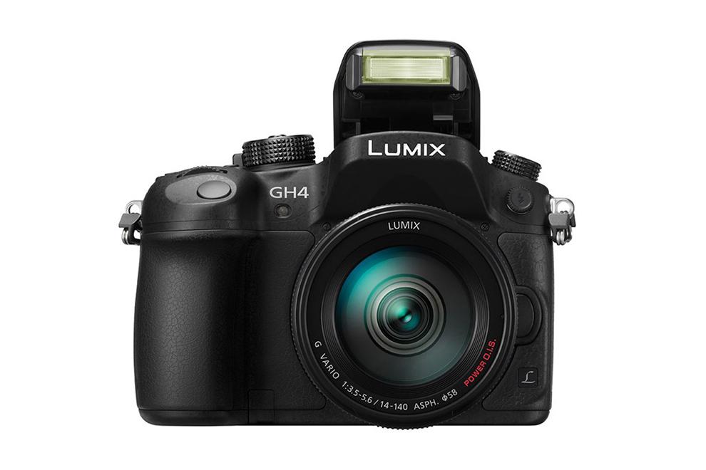 Image of Panasonic Lumix DMC-GH4 Mirrorless 4K Video Camera