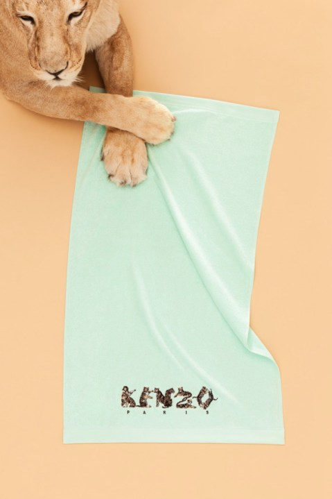 Image of KENZO 2014 Spring/Summer Campaign by Qiu Yang