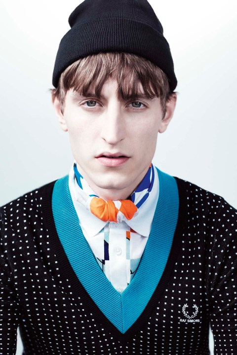 Image of Raf Simons x Fred Perry Laurel Wreath 2014 Spring/Summer Collection
