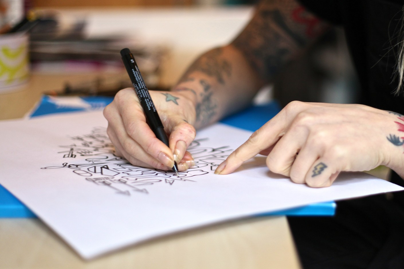 Image of Red Bull Curates Protégés x HYPEBEAST Presents Pen & Paper with Karolina Wojcik