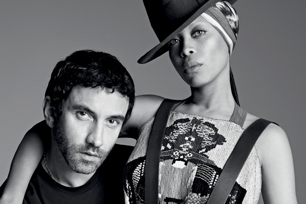 Image of Riccardo Tisci Discusses Erykah Badu As New Face of Givenchy