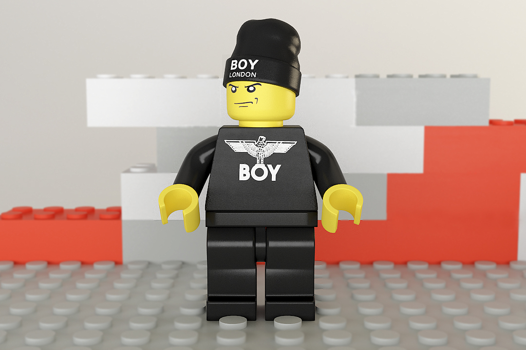 Image of Simeon Georgiev Adorns LEGO Figures with Streetwear