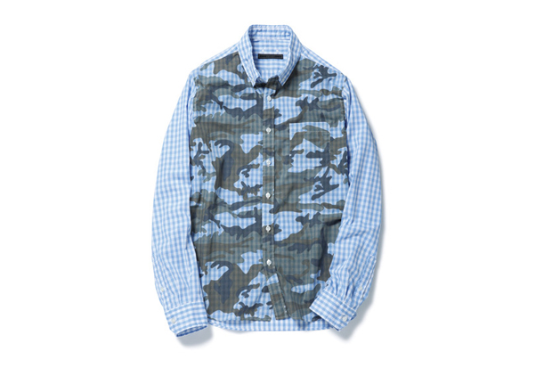 Image of SOPHNET. 2014 Spring/Summer Camouflage Shirt Collection