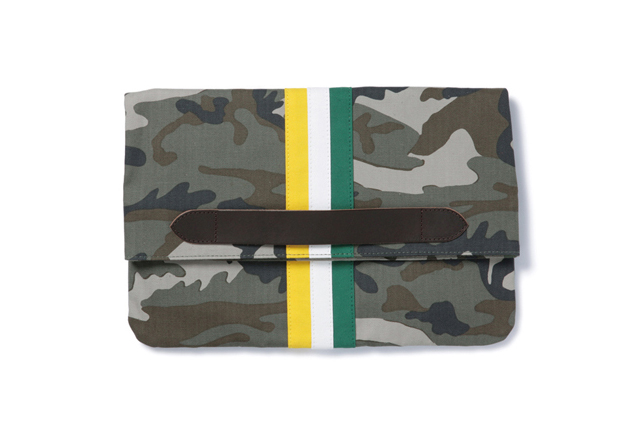Image of SOPHNET. 2014 Spring/Summer Stripe Clutch Bag