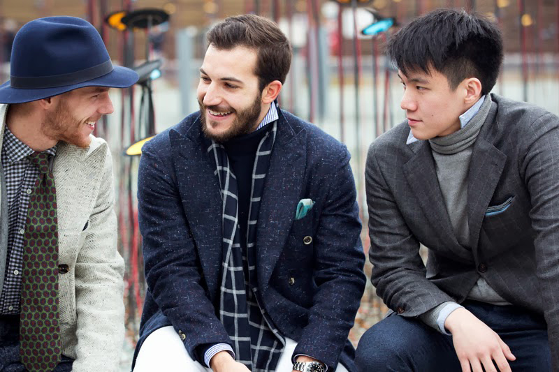 Image of STREETFSN Captures New Trend in Latest Street Style Photos: Popped Collar