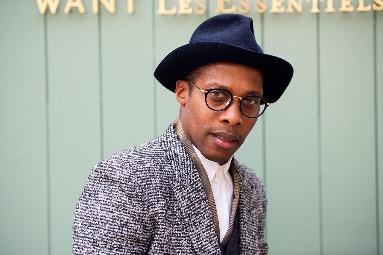 Image of Streetsnaps: Dexter Peart of WANT Les Essentiels De La Vie