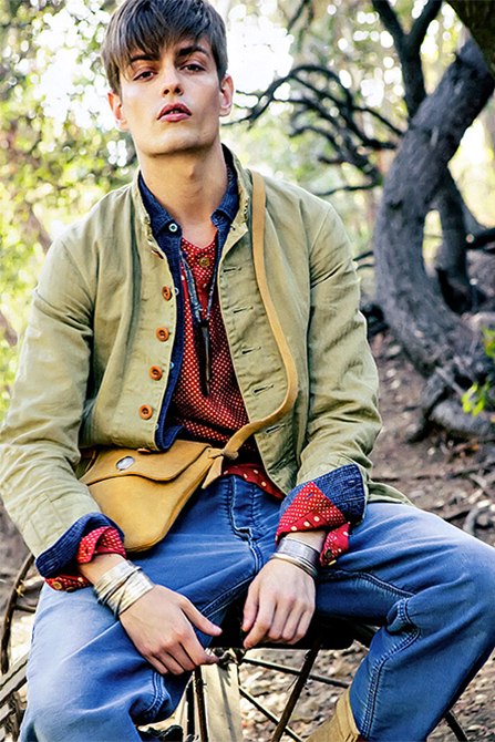"Image of ""Text in visvim"" 2014 Spring/Summer Editorial by SENSE"