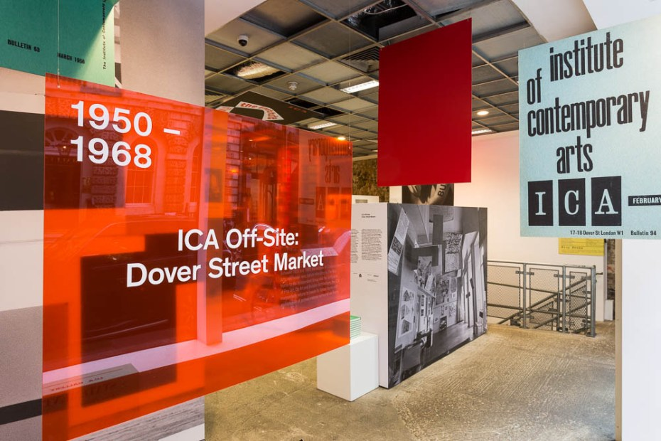 Image of The Institute of Contemporary Arts Plasters Dover Street Market