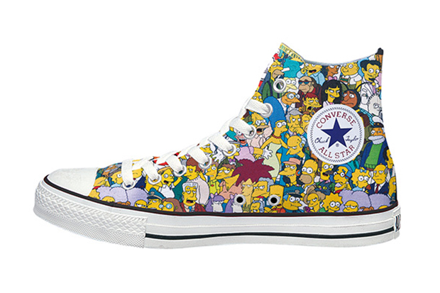 Image of The Simpsons x Converse Japan Chuck Taylor All Star L High