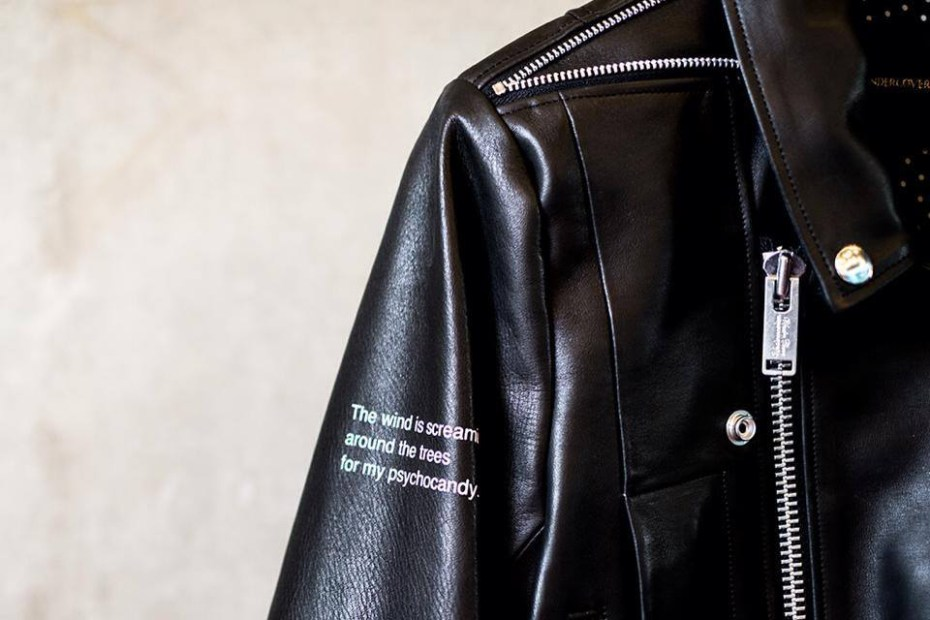 "Image of UNDERCOVER ""PSYCHOCANDY"" Leather Biker Jacket"