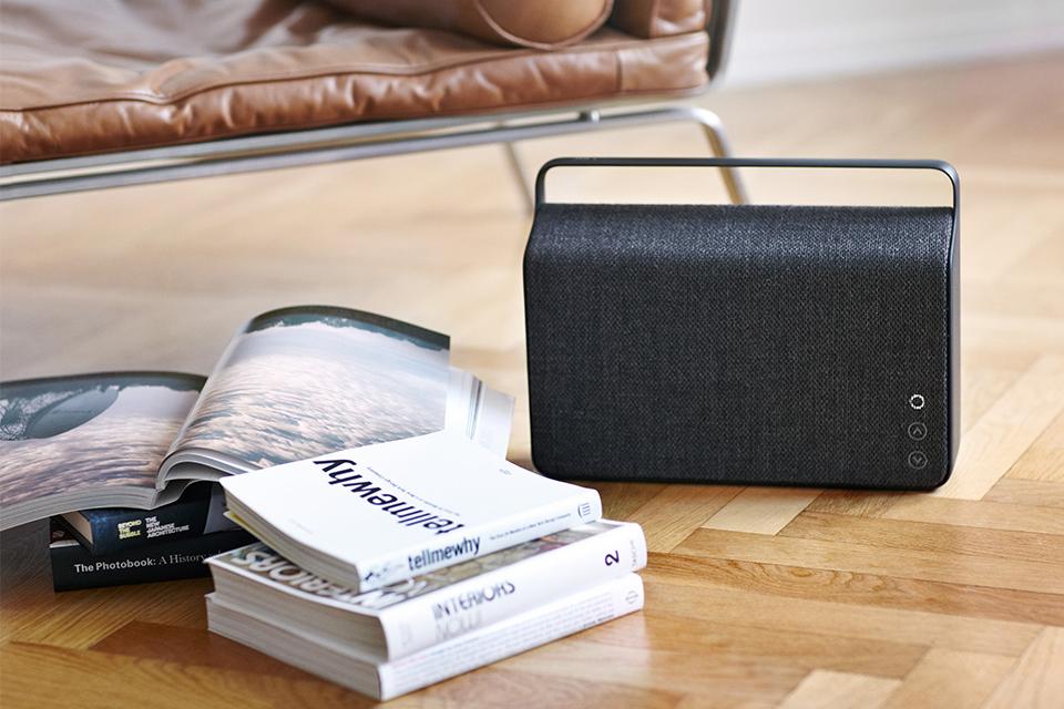 Image of Vifa Copenhagen Wireless Speakers with Kvadrat Fabric