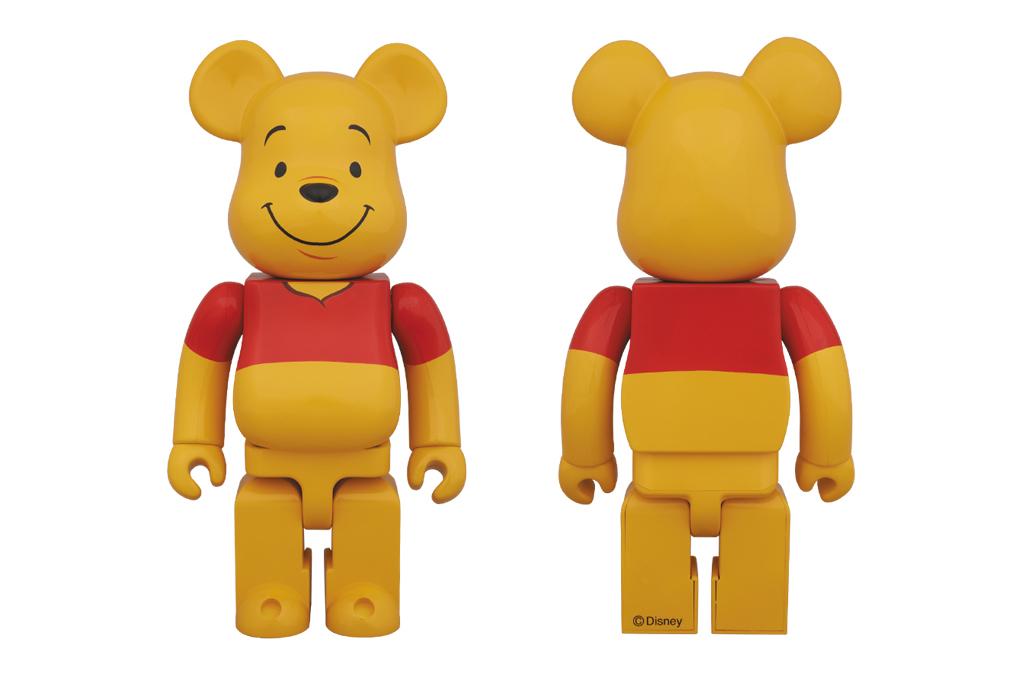 Image of Winnie the Pooh x Medicom Toy 400% Bearbrick